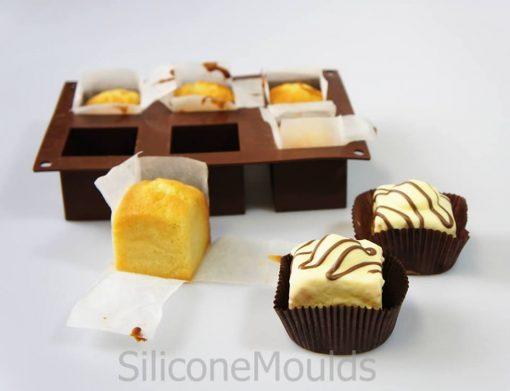 Matrita 6 cuburi silicon