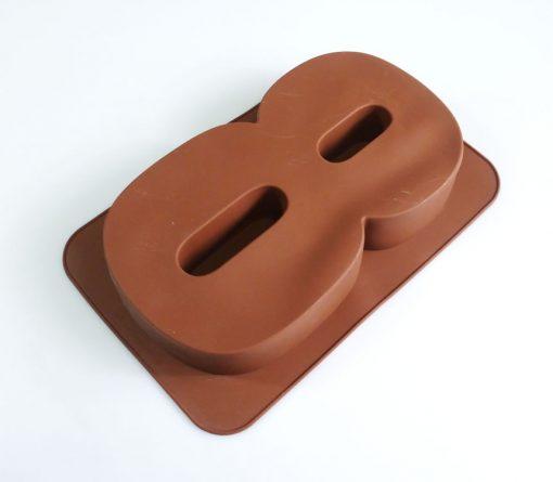 Cifra 8 - forma din silicon alimentar